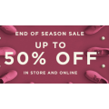 Clarks - End of Season Sale: Up to 50% Off Storewide (In-Store & Online)