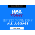Strandbags - Click Frenzy Travel: Up to 70% Off all Luggage e.g. Samsonite Octolite 81cm Suitcase $214 (Was $429) etc.