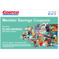 Costco - Latest Markdown Coupons - Valid until Sun 2nd Feb
