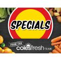 Coles - Fruits & Vegetables Specials e.g. Carrots 1kg Bag $1.3; Celery Bunch $1.5; Broccoli $2/kg  - Valid until Thurs,12th Jan