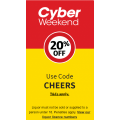 Coles - Cyber Weekend: 20% Off Liquor (code)! 4 Days Only