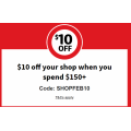 Coles - Flash Sale: $10 Off Orders - Minimum Spend $150 (code)