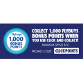 First Choice Liquor - 1000 Flybuys Bonus Points with Click & Collect Orders - Min. Spend $20 (code)