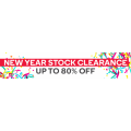 Kogan - New Year Stock Clearance: Up to 80% Off RRP + Free Shipping (Today Only)
