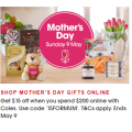 Coles - Mother's Day Sale: $15 Off Online Orders - Minimum Spend $200 (code)
