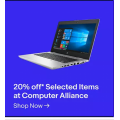 eBay Computer Alliance - 20% Off Everything (code)! Max. Discount $1000