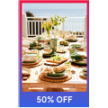 MYER - Flash Sale: 50% Off Dinnerware Clearance Items - In-Store & Online