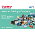 Costco - Latest November Coupons - Valid until Sun 17th Nov