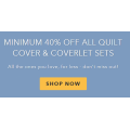 MyHouse - Minimum 40% Off All Quilts, Cover & Coverlet Sets