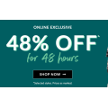 Crossroads - 48 Hours Flash Sale: 48% Off Everything! Online Only