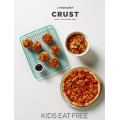 Crust Pizza - Free Kids Pizza with any Large Pizza @ Marriott Waters Shopping Centre [Sat 8th Feb]
