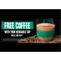 7-Eleven - Free Coffee with Any Reusable Cup - Starts Thurs 1st Aug