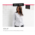 Myer - Take a Further 40% Off Original Price of Women's Clothing! Today Only