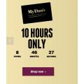 Dan Murphy's - 10 Hours Sale: Up to 70% Off e.g. Parker Coonawarra Estate Pinot Noir Rosé 2017 $9 (Was $19.99); Elysian Springs Spring Lamb Syrah 2017 $12.9 (Was $26.99) etc.
