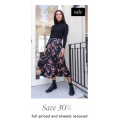 David Jones - Flash Sale: Take an Extra 30% Off Selected Sale Styles (Already Up to 50% Off)
