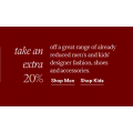 David Jones - Further Markdowns: Take a Extra 20% Off Clearance Items (Already Up to 70% Off) - 24 Hours Only