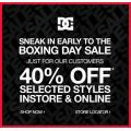 DC Shoes - 40% OFF SELECTED STYLES