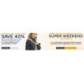 Weekend Offers @ David Jones!