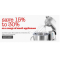 Save 15%-30% off on Small Appliances @ David Jones!
