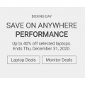 """Dell - Boxing Day 2020 Sale: Up to 50% Off Laptops & Monitors + Extra 8% Off (code) e.g. Inspiron 15 7000 2-in-1 i7 15.6"""" FHD 16GB DDR4, 3200MHz 512GB SSD Laptop $1,324.31 ($2848.99) etc."""
