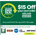 Woolworths - 48 Hours DIGI DEAL Sale: $15 Off Everything (code)! Starts Wed 9th June