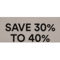 David Jones - Further Markdowns: Extra 30%-40% Off Clearance Sale (Already Up to 70% Off) e.g. Everyday Linen Shirt $27.3 (Was $159) etc.