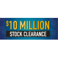 Domayn  - $10 Million Stock Clearance + 10% Back in Gift Cards (Today only)