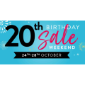 Domayne - 20th Birthday Weekend Sale Super Deals - 4 Days Only