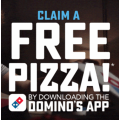 Dominos - Download the App & Claim a Free Large Pizza (Sign-Up Required)