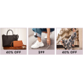 MYER - Daily Deal: Take an Extra 40% Off Women's Dresses, Handbags, Wallets & Shoes - Today Only