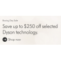 Dyson Boxing Day Sale 2020 - Up to 250 Off Storewide e.g.  Dyson V8 Absolute cord-free Vacuum Cleaner $649 (Was $849); Dyson's powerful V10 Absolute+ Vacuum $849 (Was $1099)