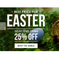 Real Smart - Easter Sale - 25% off selected items