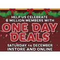 EB Games - 6 Million 1 Day Sale: Up to 90% Off e.g. Fallout 76 $10 (Was $59.95); Wolfenstein II $10 (Was $89.95); Days Gone PS4 $28 (Was $99.95) etc.