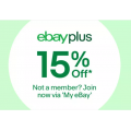eBay - Tech Sale: 15% Off Orders (code)! Max. Discount $300 [Plus Members Only]