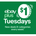 eBay - $1 Tuesday Sale: Christmas Deals for eBay Plus Members (code) - Starts 2 P.M Today