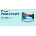 eBay - Afterpay Sale: 15% Off Millions of Items (code)! Max. Discount $300