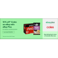 eBay Coles - 10% Off Everything (code)! Max. Discount $100 [Plus Members Only]