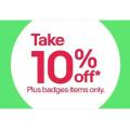 eBay - Flash Sale: 10% Off Orders - Minimum Spend $100 (code)! Plus Members Only