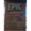 7-Eleven - Epic Wednesday Sale: $1 Snickers Bar; $2 Maltesers; $3 Sandwiches (Was $5) etc. [Starts Wed 24th June]