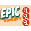 7-Eleven - Epic Wednesday Sale: $1 50g Cadbury Dairy Milk Marvellous Creations Bar; $2 120-200g Allens Lolly Bag Varieties; $3 Sushi Twin Pack etc.