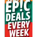 7-Eleven - Epic Weekly Deals: Mars, Snickers, Twix & Teaser varieties $1; 7-Eleven Snack Sausage Roll $1 & More
