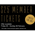 Event Cinemas - Cinebuzz Member Exclusive Offer: $25 Gold Class Tickets (Fri 26th - Sun 28th Feb)
