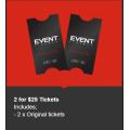 Event Cinemas - Member Movie Madness: 2 Original Tickets $25