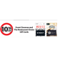 Coles - 10% Off $50 Event Cinemas and The Restaurant Choice Gift Cards
