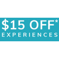 Red Ballon - Afterpay Day Sale: $15 Off Experiences (code)! Minimum Spend $150