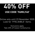 PUMA - FF ELIGIBLE Items Sale: Up to 50% Off Clearance Items + Extra 40% Off Sale Items (code)