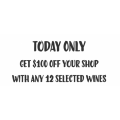 First Choice Liquor - $100 Off Shop With Any 12 Selected Wines - Today Only
