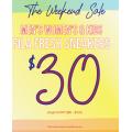 FILA - Weekend Sale: 70% Off Men's & Women's Fresh Footwear e.g. Women's Fila Fresh $30 (Was $100) etc.