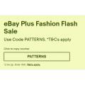 eBay - Plus Members: Fashion Flash Sale: Up to 90% Off Regular Price (code)