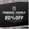 Foot Locker - Friends & Family Sale: 20% Off Storewide! Today Only